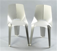 nature of material - chair (+ nature of material - chair; 2 works) by ran amitai