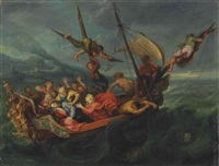 christ on the sea of galilee by simon de vos