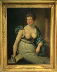 femme au livre by pieter fonteyn