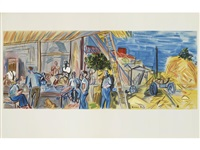 lettre à mon peintre (bk w/27 works and text by marcelle oury) by raoul dufy