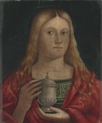 the penitent magdalen by giovanni bellini