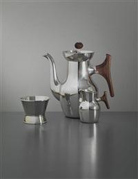 coffee set (3 works) by tapio wirkkala
