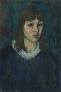 portrait of a girl by arshile gorky