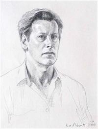 self portrait by tom alberts