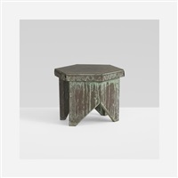 stool from price tower, bartlesville, oklahoma by frank lloyd wright