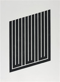 untitled suite: one plate by donald judd