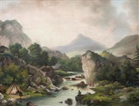 trout river, trout lake by alfred worsley holdstock
