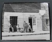 barber shop, vicksburg, mississippi by walker evans