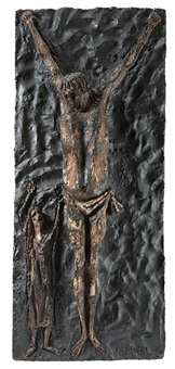 crocefissione by agenore fabbri