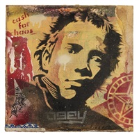 obey rotten album stencil by obey