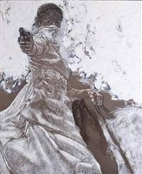 le tableau (avec la mariée) 3 (2 works) by jean le gac