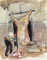 le boucher de landivisiau by maurice le scouezec