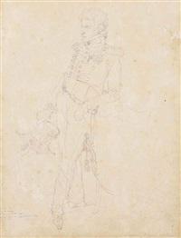 portrait du prince achille murat by jean-auguste-dominique ingres