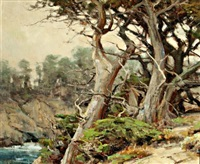 cypress-point lobos by clyde aspevig