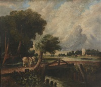 dedham by john constable