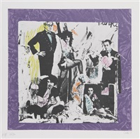justine and the victorian punks (warhol) by colette