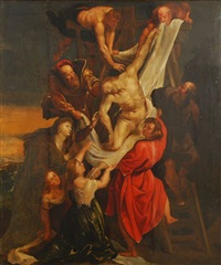 la descente de croix by sir peter paul rubens