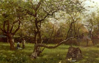 in the orchard by blandford fletcher