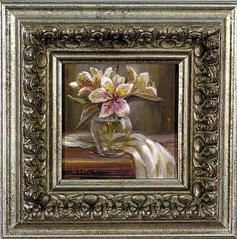 lilies study by julie ford oliver