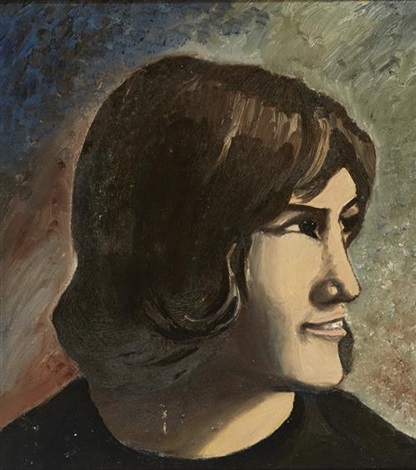 portrait of the artist&#39;s sister by <b>christy brown</b> - christy-brown-portrait-of-the-artists-sister