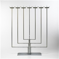 candelabrum by j. robert swanson, pipsan swanson saarinen and eliel saarinen