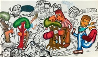tree lovers by peter saul