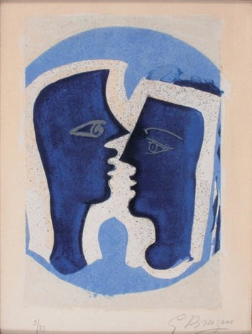 le couple by georges braque