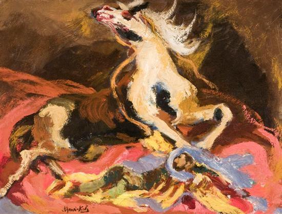 wild horse by mané katz