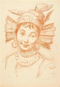 visages (12 works) by romain kramstyk