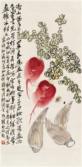 vegetables by qi baishi and qi liangchi