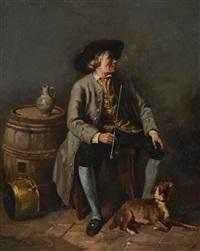 le fumeur de pipe by jean baptiste madou