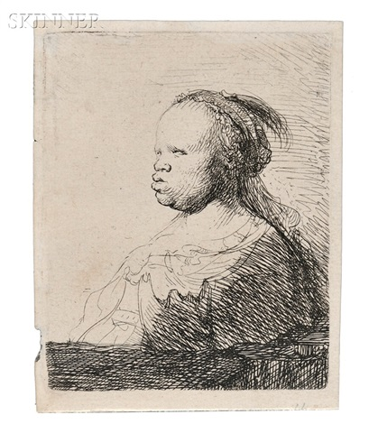 the white negress by rembrandt van rijn