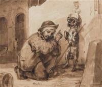 le petit dresseur de chien by nicolas toussaint charlet