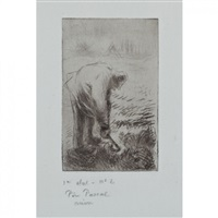 pere pascal by camille pissarro