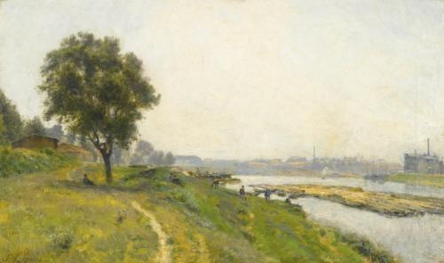 ivry sur seine le confluent avec la marne by stanislas lépine