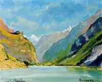 le lac de chambery by henri auchère