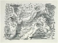 six baigneuses by raoul dufy