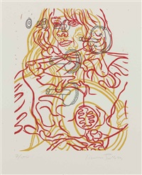 untitled (for film forum); untitled (2 works) by david salle