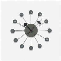 ball wall clock, model 4755 by george nelson & associates