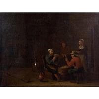les joueurs de cartes by egbert van heemskerck the elder