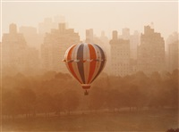 floating over sheep meadow by ruth orkin