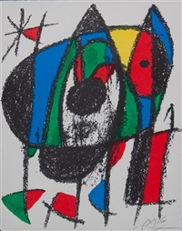 lithographe ii: untitled by joan miró