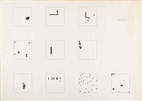 mille (32 x 32 - 24) thousand (32 x 32 - 24) by alighiero boetti
