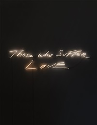 those who suffer love by tracey emin
