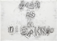 dead as a doorknob by dan colen