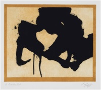 at the edge (belknap 315; engberg & banach 345) by robert motherwell
