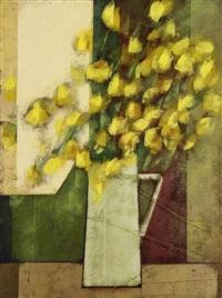 flores amarelas by carlos scliar