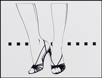 shoes by patrick nagel