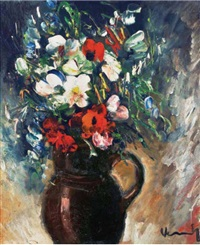 les fleurs by maurice de vlaminck