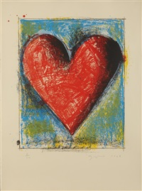 carnegie hall heart by jim dine